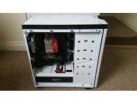 Custom Built PC, Intel I5-6600k, Asus 750ti 2gb, 16gb ram, 240gb ssd, windows 10