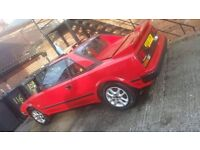 barn find toyota mr2 mk1 a good condition for year 1985