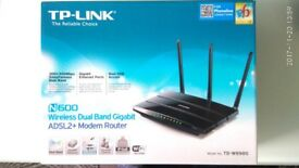 TP-Link N600 Wireless DUAL BAND Gigabit 300 Mbps Wireless N Router TD-W8980