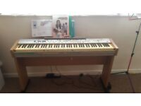 Piano keyboard free to collect