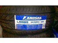 2 New Tyres 245 /50/ 18 ,100w