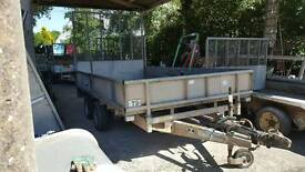 ifor williams lm126g dropside trailer ramptailgate no vat