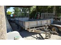 ifor williams lm126g dropside trailer ramptailgate no vat