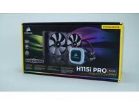 Corsair Hydro Series H115i PRO RGB, 280mm All-In-One Hydro CPU Cooler