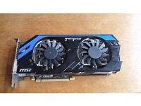 EXCELLENT 1440P Capable MSI GTX 670 Twin Frozr Edition Graphics Card, RRP £200+ £100 NO OFFERS