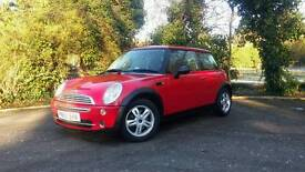 Mini one + panoramic roof and low mileage.