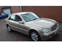 Mercedes c200 k Auto 2002 low mileage full mot