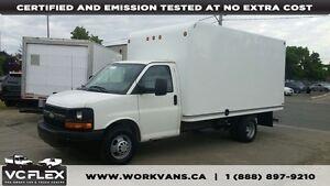 2010 Chevrolet Express G3500 14Ft 4.8L V8 Cube Van