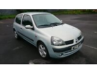 2002 Renault Clio expression with MOT to 23rd July 17