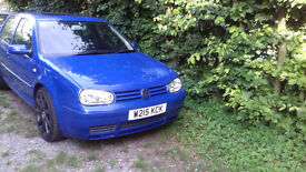 mk4 vw golf V6 with lots of new parts