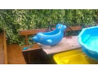 dolphin swing for toddler