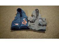 3-6 months boy's winter jacket & hoodie