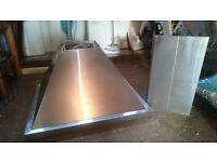 Stainless Steel Cooker Extractor Fan 60 Inches Wide