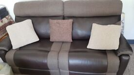 2x3 steater leather electric recliners sofas