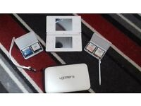 White Nintendo DS LITE with 4 Games