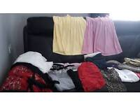Ladies mixed size clothing
