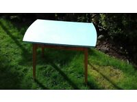 Retro kitchen table with cuterly draw