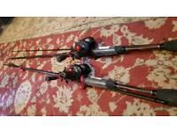 drop shot/spinning fishing rods