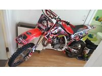 Honda cr 85 not kx rm ktm pitbike immaculate