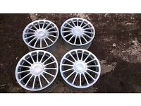 """Set Genuine Wheels 18"""" Rover 75 /MG ZT ZTT 5x100 Delivery available"""