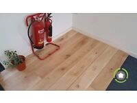 Solid French Oak Flooring | Character Grade | Rustic | Real Wood | 200mm x 20mm