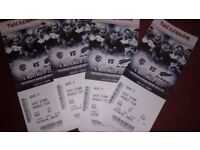 rugby tickets barbarians v new zealand 4 seats,i can deliver to sussex and surrey area
