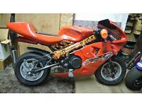 MINI MOTO ,MANY NEW PART'S... READY TO GO £110...PENARTH