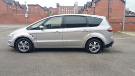 FORD S-Max 2007 TDCI 6 Gear Diesel 7 Seater Low Mileage 75000 Good Condition