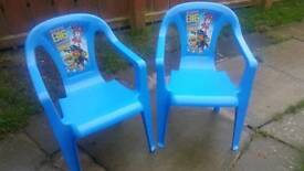 Paw Patrol Chairs