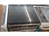 NEWWORLD silver GAS COOKER 60cm