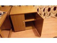 Office Desk & Large filing cabinet