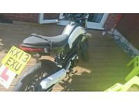 Kymco k pipe 125 for sell or swap