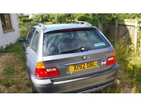BMW 320d spares or repair