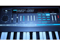 KORG POLY 800 - (MINT CONDITION WITH ORIGINAL BOX AND ORIGINAL MANUAL)