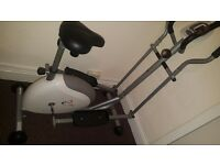 V-fit G Series CET Magnetic 2-in-1 Cycle Elliptical Cross Trainer