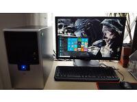 Gaming PC i3 4130 + 6Gb DDR3 Ram + AMD r7 260X 2Gb Graphic Card