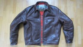 WANTED AERO LEATHER JACKET IDEALLY 40 OR LGE SIZE BUT WILL CONSIDER OTHER SIZES
