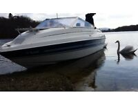 Fletcher fast cruiser boat. 2 berth.Excellent engine. Excellent trailer