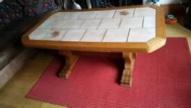 German retro table