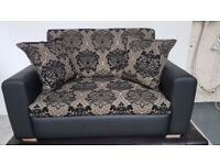 NEW Solid 2 Seater Sofa