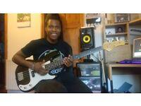 Teaching beginner and intermediate bass guitar