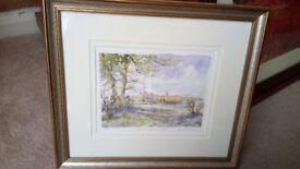 Leeds Castle Framed Fine Art Print Picture.