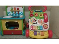 walker toys by elc and vtech