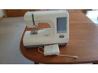 Janome 10000 sewing machine One careful owner. Instruction manuals videos embroidery accessories etc