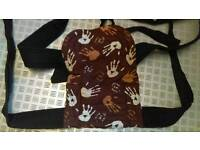 Palm and ponds baby carrier