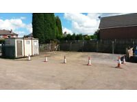 LARGE SECURE YARD AREA TO RENT