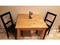 Kitchen Table with 2 chairs, £50