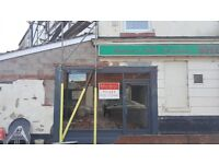 SHOP TO LET- PRIME LOCATION - LOW RENT - FULLY RENOVATED