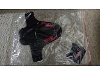 Marsh Guard complete kit (mud guard and the stash fork fender) red decals