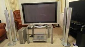 TV DVD player and home cinema system
